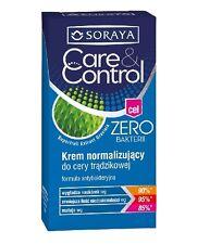 SORAYA CARE CONTROL ZERO NORMALIZING FACE CREAM ANTIBACTERIAL FORMULA ACNE SKIN