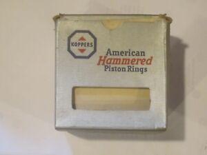 New Piston Ring Set 1932-1934-1936-1938-1940-1941-1942 Ford V8 3 Ring Piston