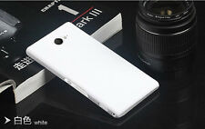Matte Hard PC Cases Matte Phone Back Cover For Sony Xperia M2 S50h Dual D2302
