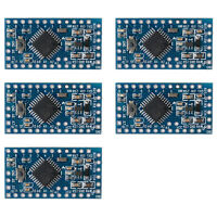 5pc ATmega328P Mikromodul Controller Board Pro Mini Modul Arduino 5V 16MHz