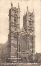 bg24519 westminister abbey west front  london  uk  PCA