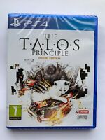The Talos Principle: Deluxe Edition PS4 New Sealed!