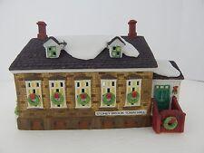 Dept 56 New England Village Stoney Brook Town Hall #56448 Good Condition 3
