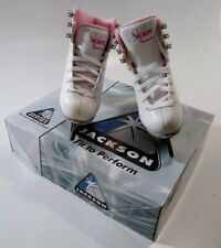 New listing Jackson Ultima Tot's High Top Lace Up Figure Ice Skates Size 8