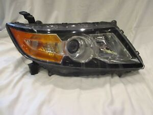 2014 2015 2016 2017 HONDA ODYSSEY PASSENGER/RIGHT SIDE XENON HEADLIGHT OEM BLACK