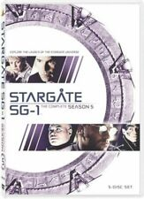 Stargate Sg-1 The Complete Season 5 Movie DVD R4 Cliff Simon