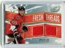 2008-09 UD Fresh Threads Brian Lee Senators FT-BL Event-Used jh11