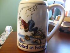"""Hooked on Fishing"" Collector's mug"