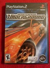 Playstation 2 Need for Speed Underground Factory SEALED New Copy PS2