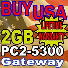2GB Gateway M-6750 M-6750h M-6750h M-6755 MEMORY RAM