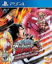 One Piece Burning Blood Marineford Edition PS4   NEW & Sealed