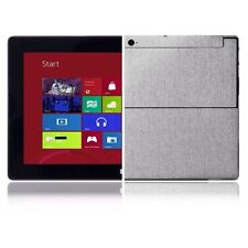 Skinomi Brushed Aluminum Skin+Screen Protector for Microsoft Surface Windows RT