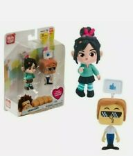 WRECK-IT RALPH BREAKS THE INTERNET - VANELLOPE ACTION FIGURE + AVATAR - NEW