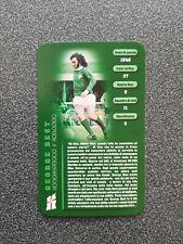 TOP TRUMPS CARD GEORGE BEST - NORTHERN IRELAND
