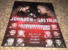 Ultimate Fighter Finale Signed 8x10 Photo Michael Johnson Justin Gaethje proof