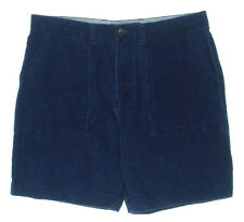Tommy Hilfiger Corduroy Shorts Classic Fit Indigo Casual Size 30W NEW Mens