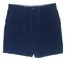 NEW Mens Tommy Hilfiger Indigo Casual Classic Fit Corduroy Shorts Sz 30W