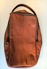 Golf Shoes Leather Bag Dulon Sport Dilana Design Travel Golf Bag Brown Case