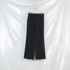 YOHJI YAMAMOTO black boiled wool double pocket trousers 8 10