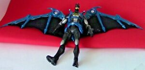 Batman Figure with Large Blue Wings