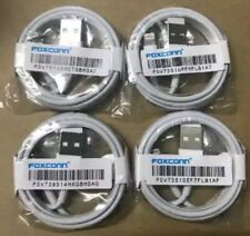 4X USB Charger 1M - iPhone 6 7 8 X  Cable By Foxconn