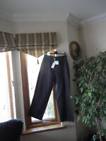 Black Linen Trousers from Mint , UK Size 12 RRP£55, New with tags