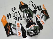 Black Gray Orange Repsol ABS Injection Fairing Kit Fit for CBR1000RR 2004 2005
