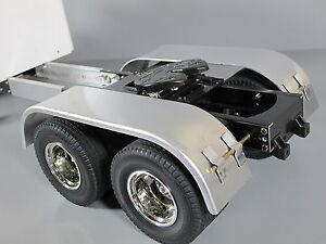 Aluminum Wheel Fender Tamiya RC 1/14 Knight King Grand Hauler Aeromax Globeliner