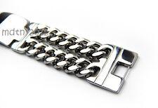 """Heavy Cool Mens&Boys Roker Biker Chain Bracelet Stainless Steel Bangle 8.66"""""""