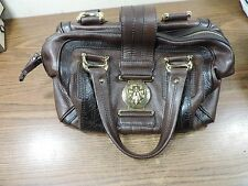 Gucci Aviatrix Boston Bag - Chocolate Pebbled Leather Limited Edition