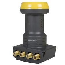 Humax 106 Oro Quattro Satélite LNB HD 40mm feed Satélites 0,1dB Digital HDTV