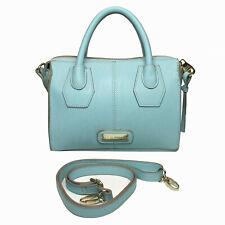 STEVE MADDEN Light Blue Satchel Crossbody Shoulder Bag • NWOT