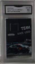 2016 PRIZM MARTIN TRUEX JR & PIT CREW TEAM RACE USED CARD#MT GEM MT 10 BY GMA