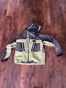 Simms Guide Wading Jacket. Size Large. Light Green. See Description.