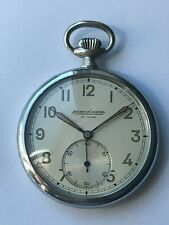 Jaeger Le-Coultre WW2 1941Military  Pocket Watch FULLY serviced