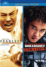 JET LI'S FEARLESS/UNLEASHED (NEW DVD)