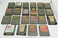 Lot of 21 Loose Games Cart Programs for Atari 400/800 Computer w/ 1 CBS Game