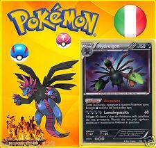 POKEMON ORIGINALE , IN ITALIANO , HYDREIGON 103/99 , NUOVA !!! RARISSIMA