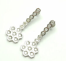 Diamond Earrings White Gold 18ct 1.14 carats