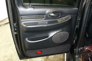 2002 03 LINCOLN BLACKWOOD Left Rear LR (INNER) Black Door Panel Trim Card