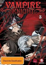 Vampire Knight : Vol 3 (DVD, 2011) New & Sealed