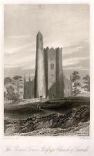 Picturesque Ireland -1884- THE ROUND TOWER BELFRY
