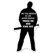 Do You Believe In Life After Death Scary Guy Violence car bumper sticker decal 6