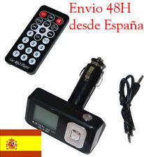 TRANSMISOR FM  MP3,IPOD BLUETOOTH COCHE + MANOS LIBRES