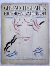 Gebrauchsgraphik 4. Jahrgang 1927 / 1928 Heft 9 - Top !