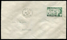 ST. LUCIA: (10333) La CLERY cancel/cover