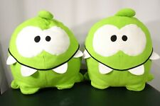 Pr Cut the Rope Smiling Om Nom Collectible Pillows Plush Stuffed Animal PreOwned