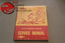 Chevy Pickup 1972 Truck Shop 10-30 Series Service Manual