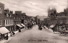 Wimborne. High Street # 52472 by Frith. Sepia.