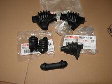 YAMAHA XT500  GUMMITEILE, Lenker - Hebel - Zug 6Pc  Rubber Parts - Handlebar
